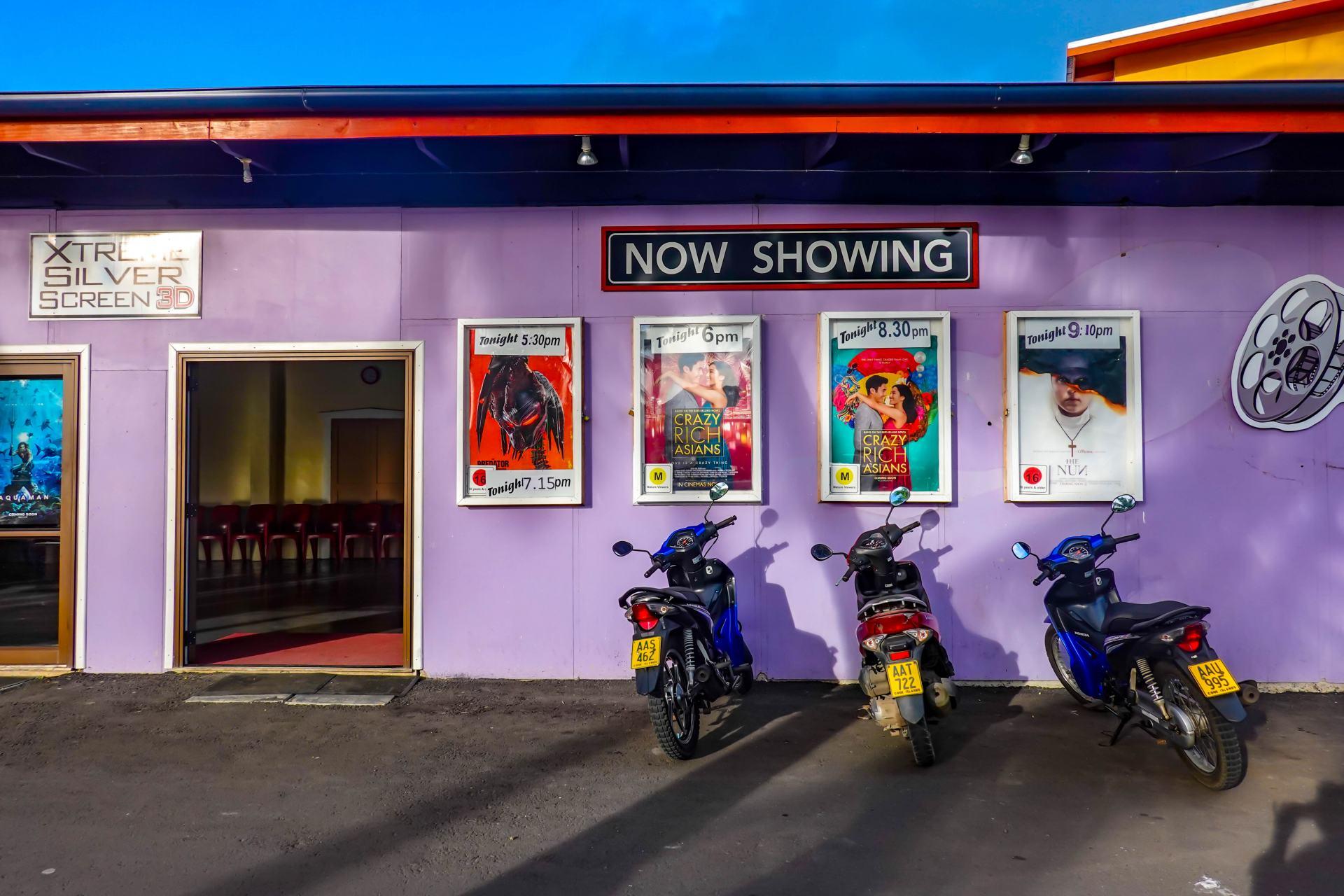 rarotonga movie theatre