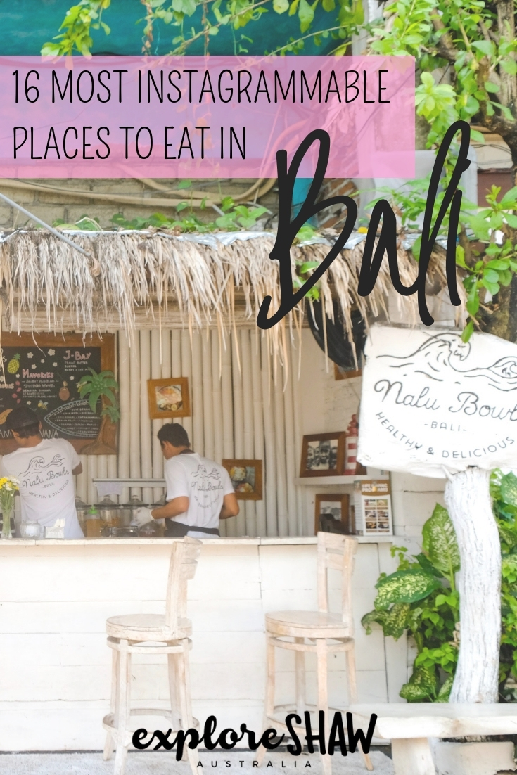16 MOST INSTAGRAMMABLE PLACES TO EAT IN BALI