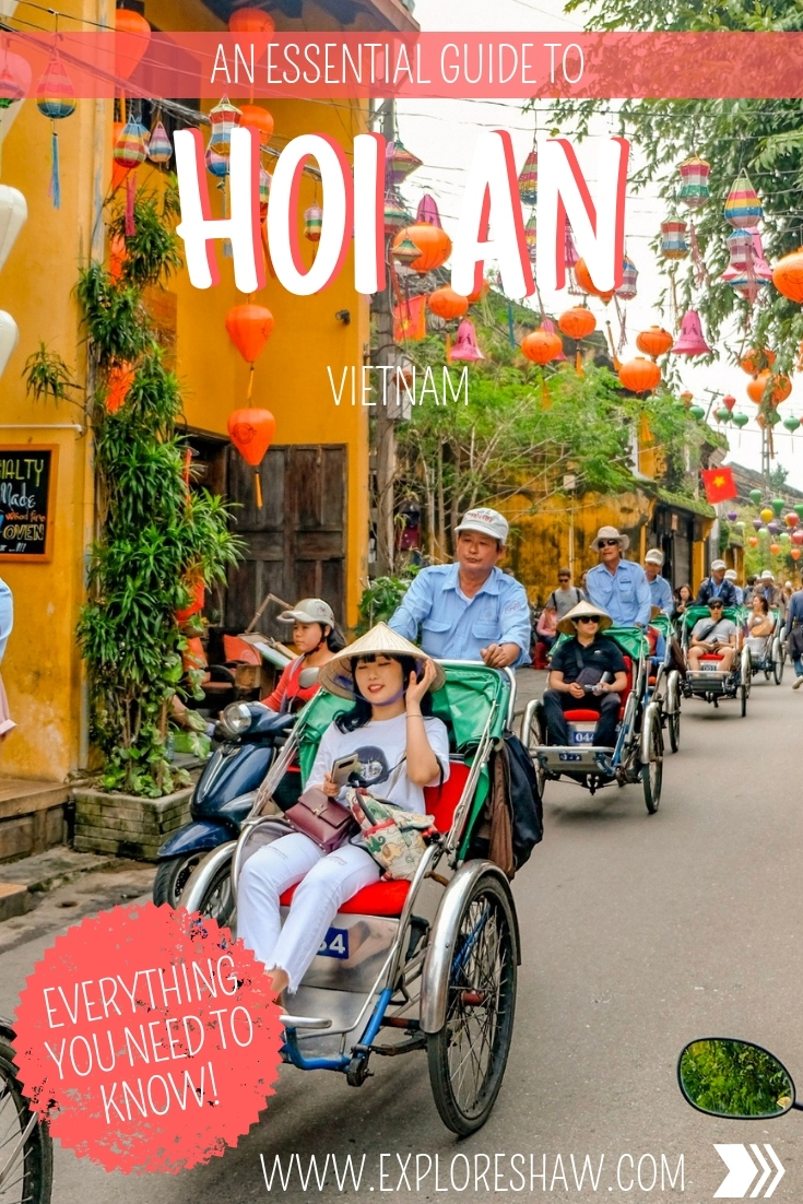 Planning your first visit to the ancient town of Hoi An? Here's our essential guide to Hoi An with everything you need to know to plan your visit, including things to do in Hoi An, top tips for your visit, the best of the old town and when to visit. As one of the top destinations in Vietnam it's a can't miss destination. 