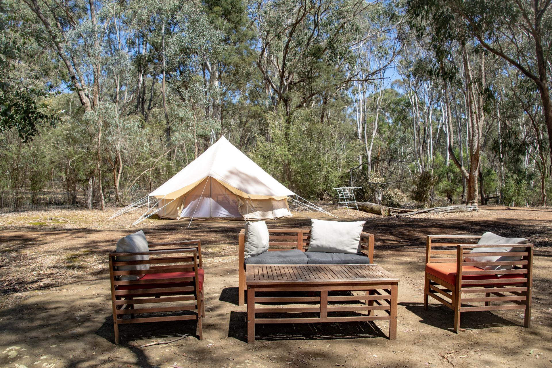 glamping with nature