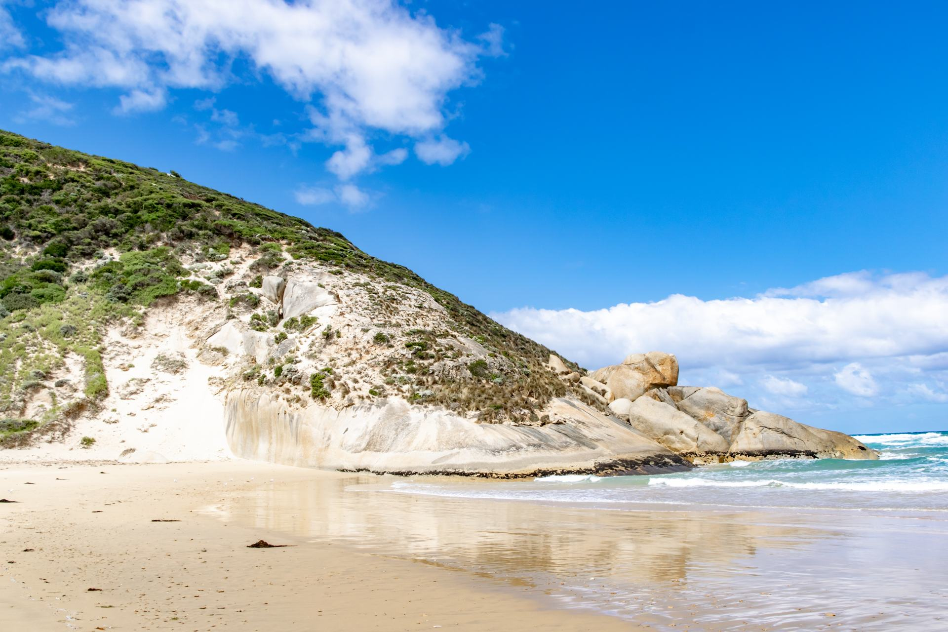 darby beach wilsons promontory national park