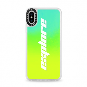 Casetify Neon Sand Liquid iPhone Case