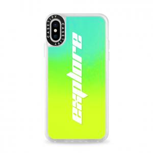 Casetify Neon Sand Liquid iPhone Case