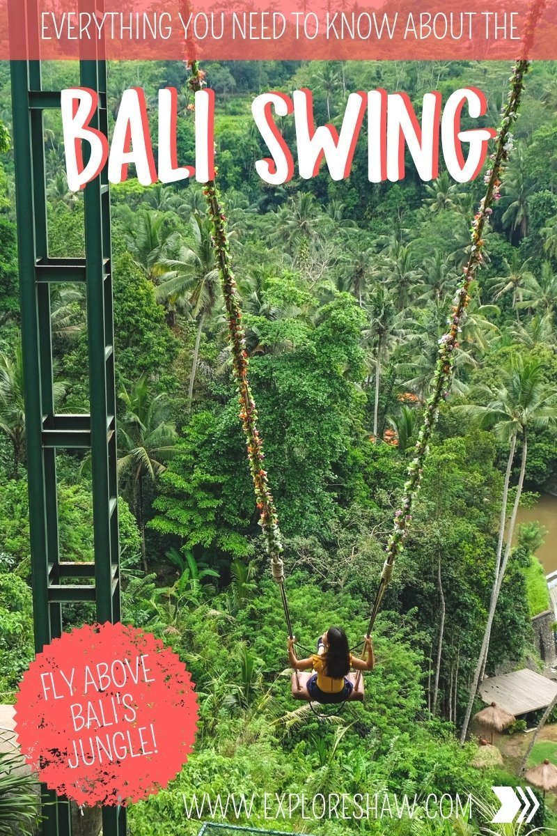 Growing in popularity with every Instagram post that's published, here's a complete guide to everything you need to know about the Bali Swing Ubud. 
