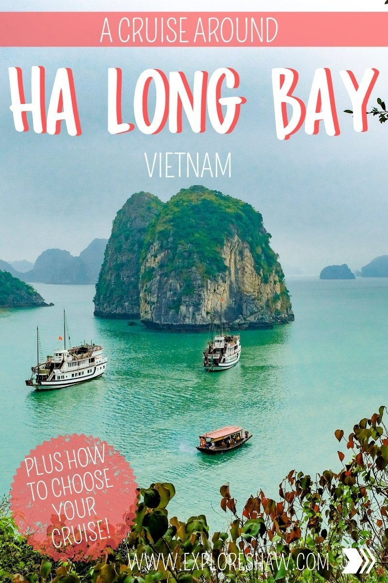 Everything you need to know about cruising around Ha Long Bay, a UNESCO World Heritage Site in Northern Vietnam - including how to choose the best cruise! #Vietnam #SoutheastAsia #HaLongBay