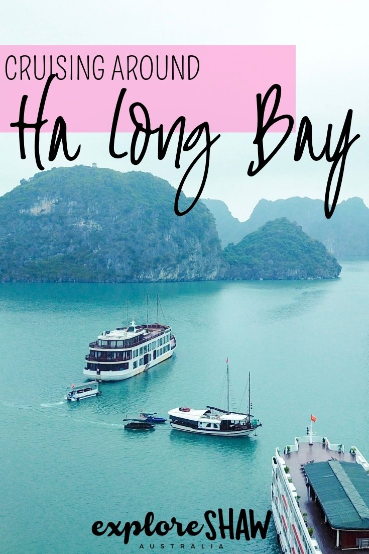 A CRUISE AROUND HA LONG BAY