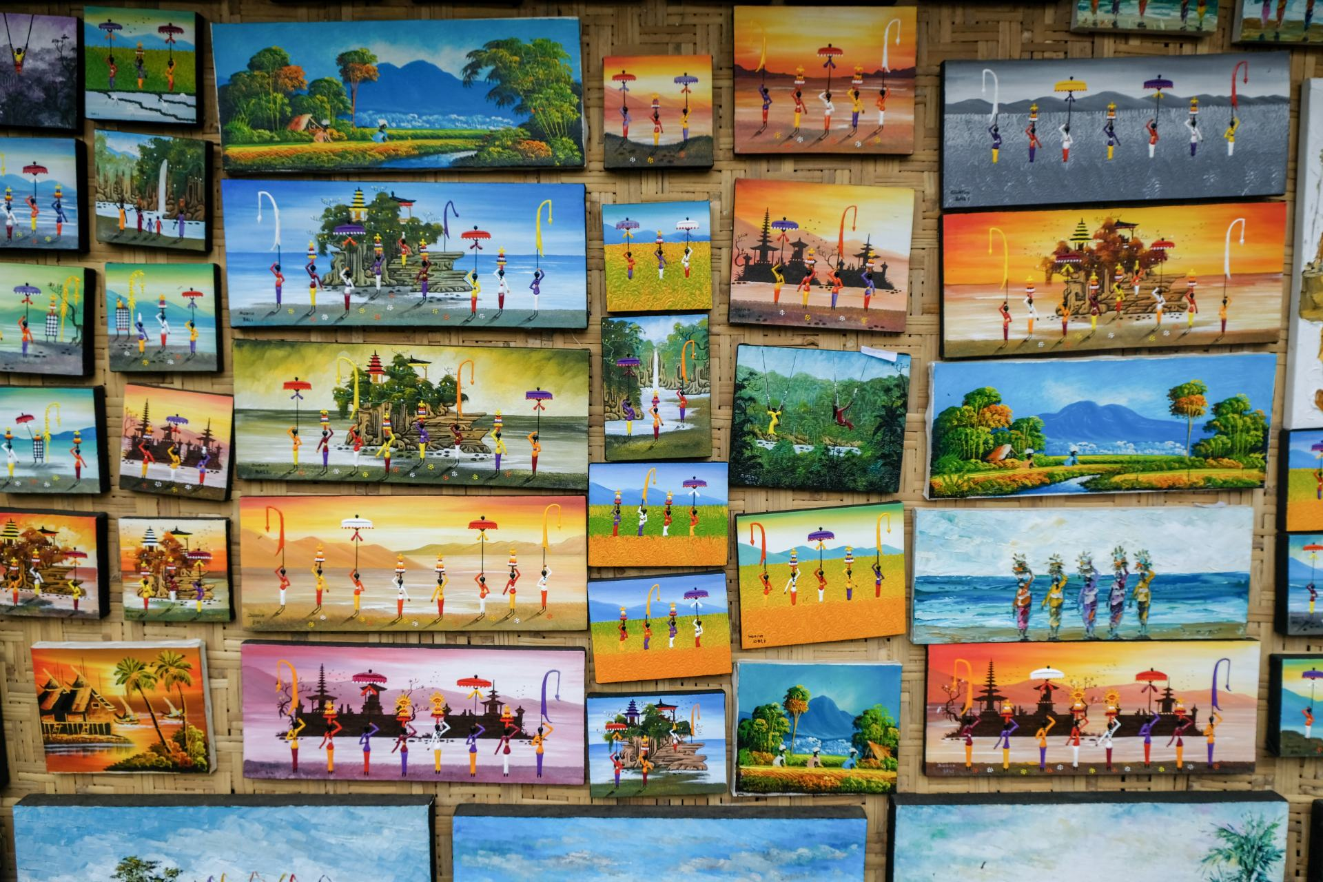 artwork at the bali swing