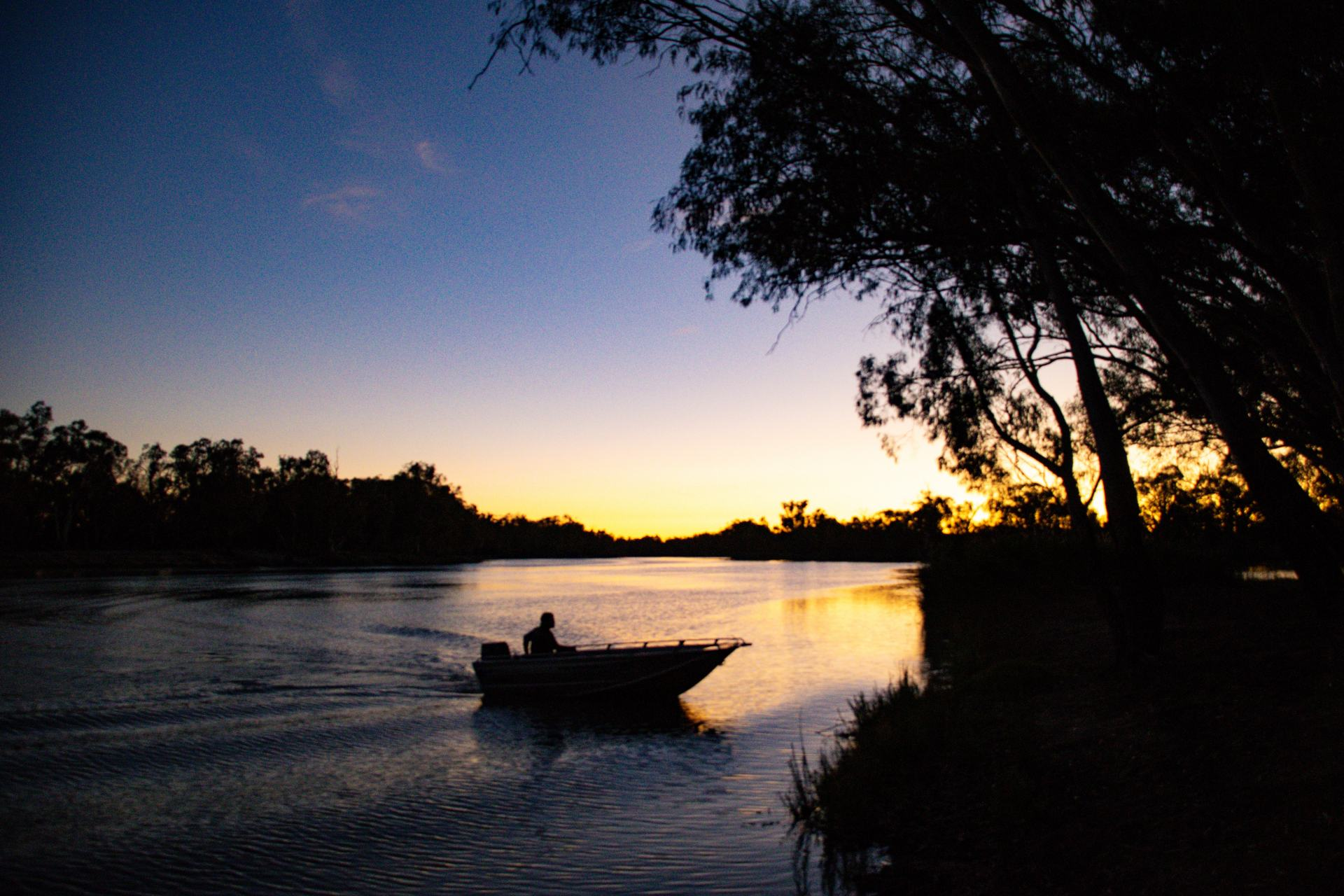 fishing at renmark