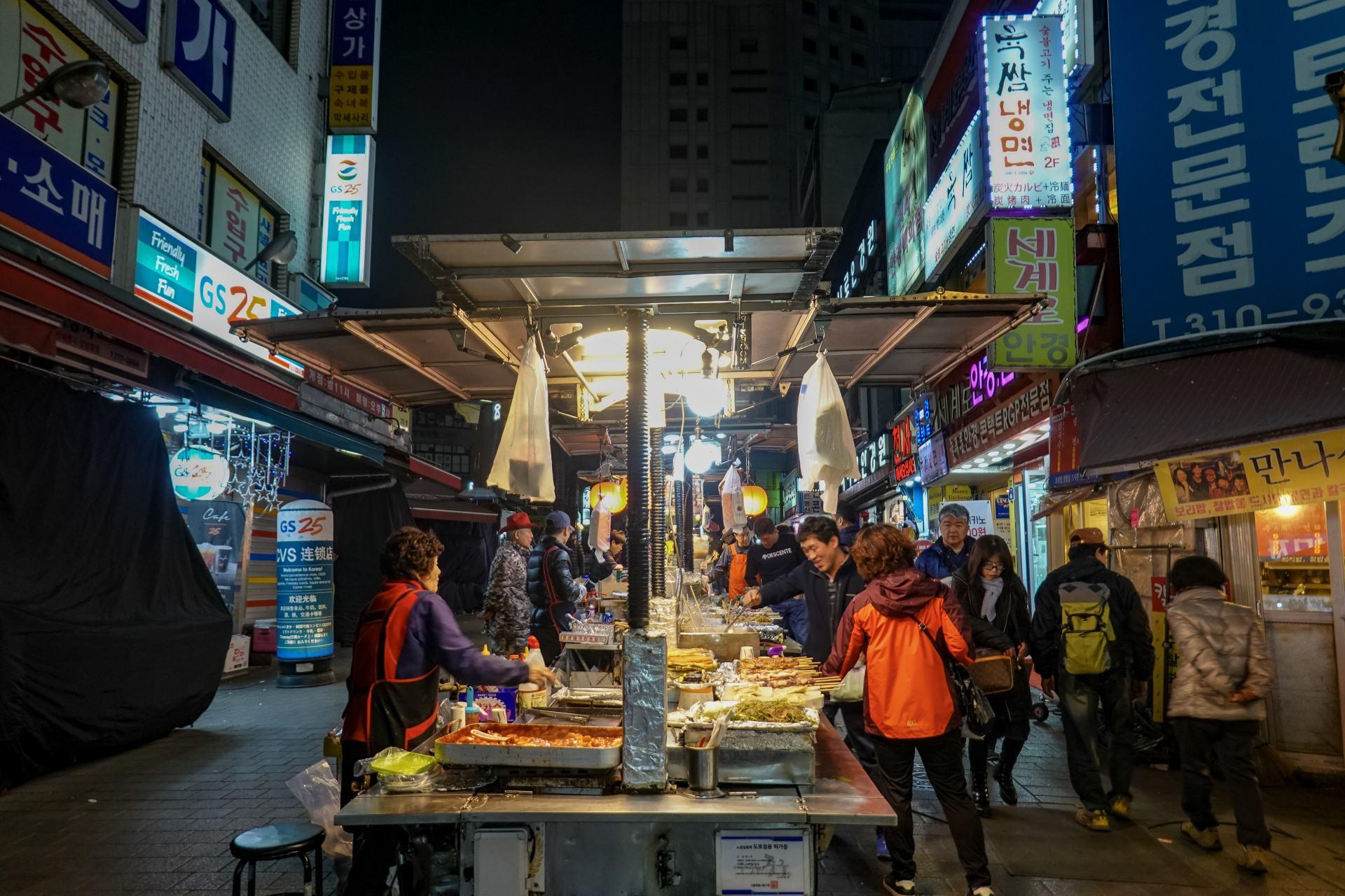 street food in korea
