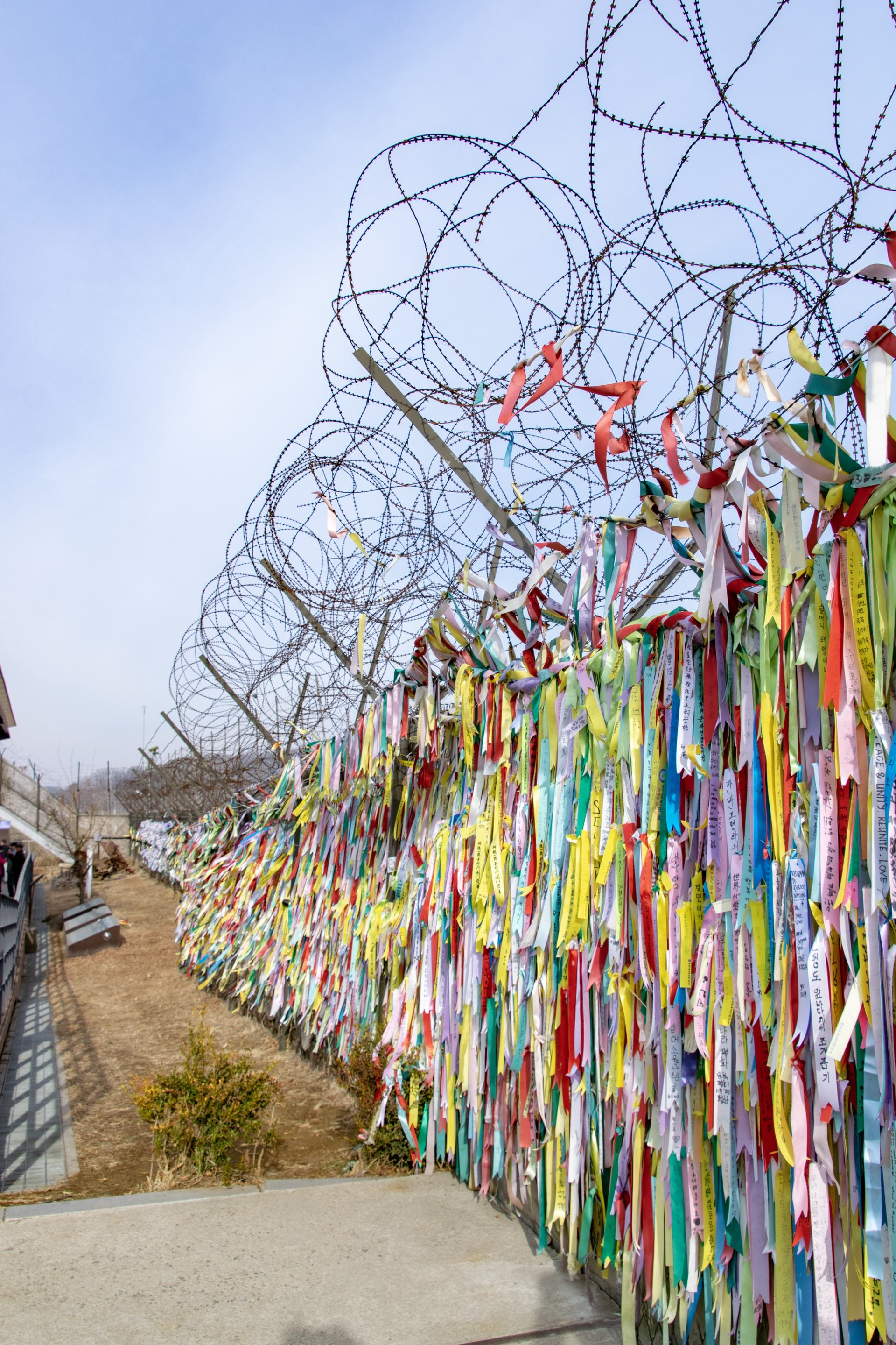 fences along the dmz