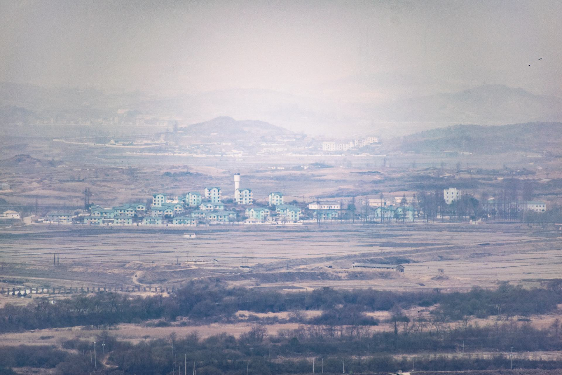 north korea from the dora observatory