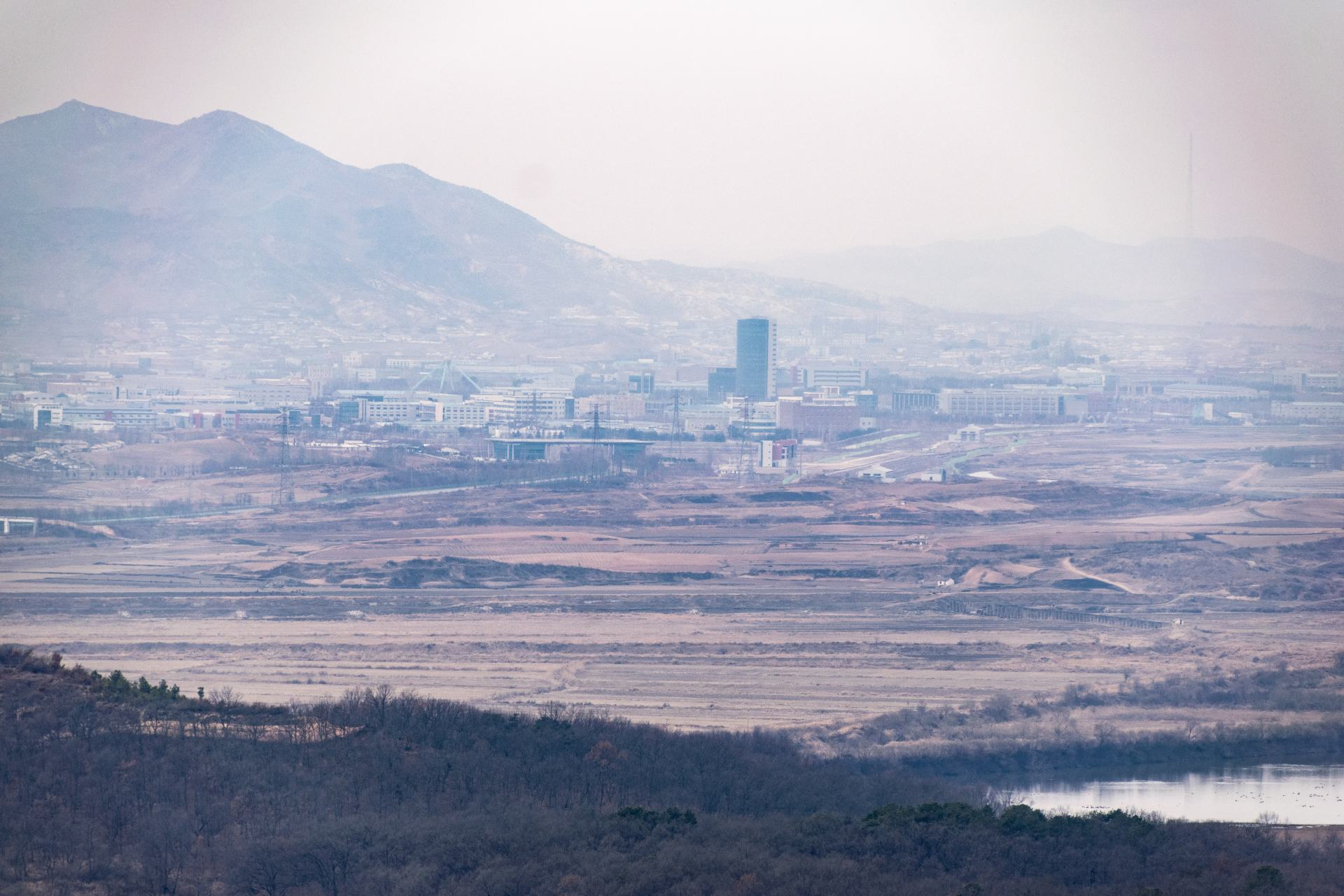 north korea from the dmz