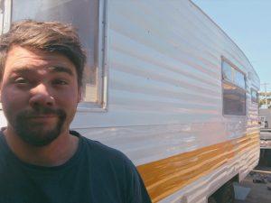 caravan selfies