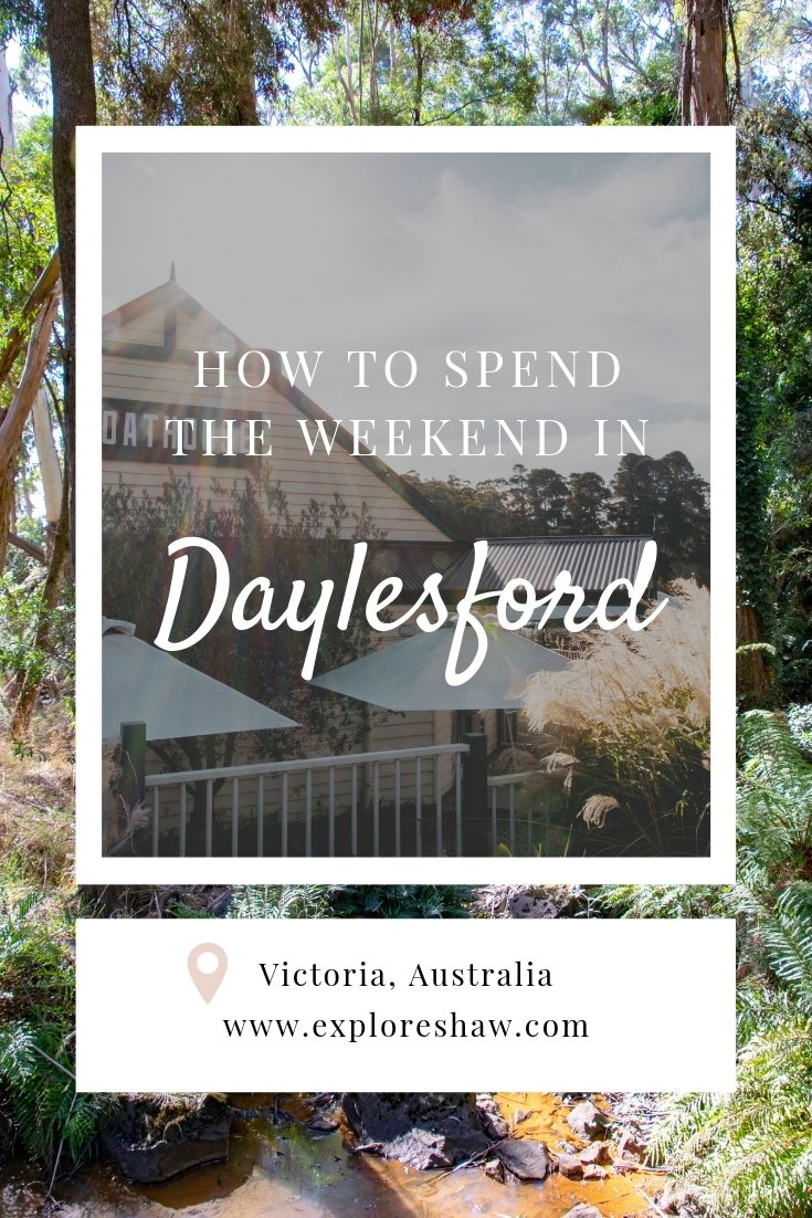 how to spend a weekend in daYlesford
