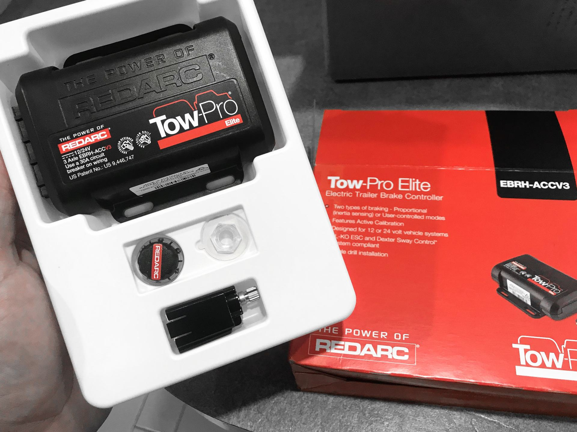 redarc tow-pro elite brake controller