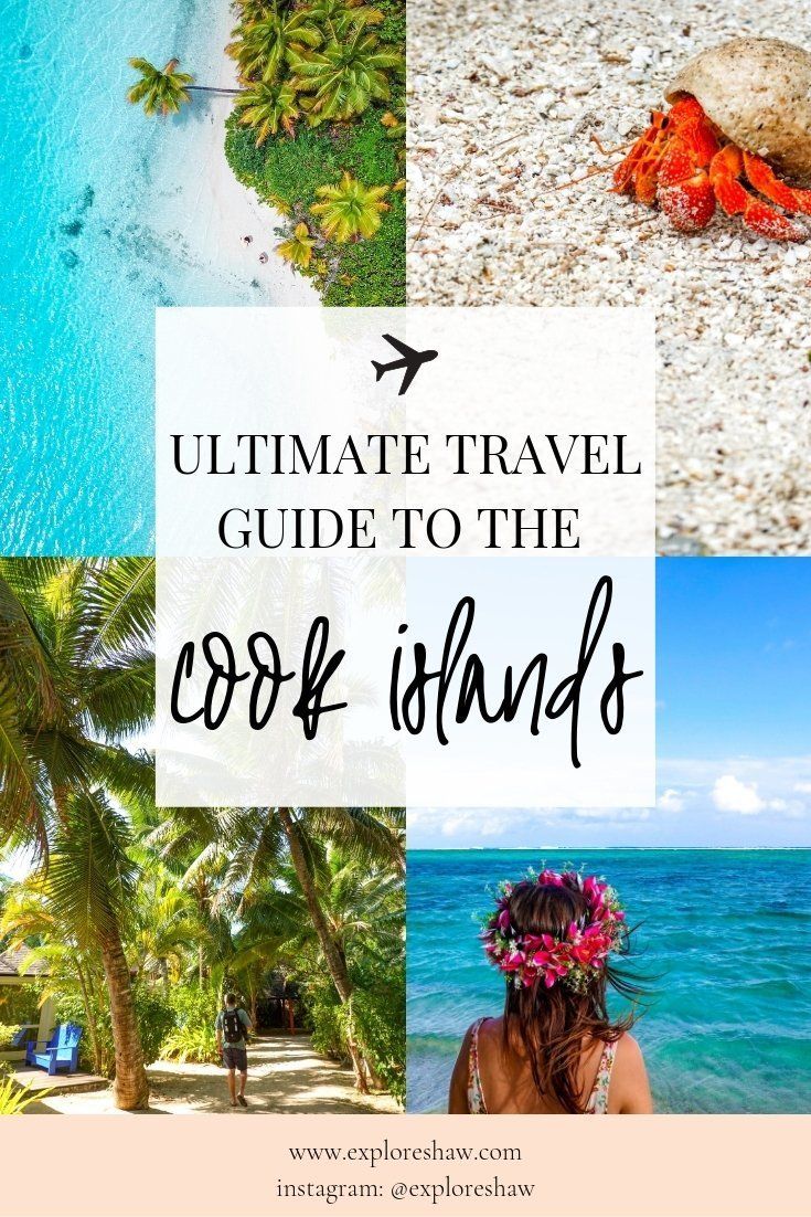 Everything you need to know for your trip to the Cook Islands, the little island paradise floating in the middle of the South Pacific. #CookIslands #Rarotonga