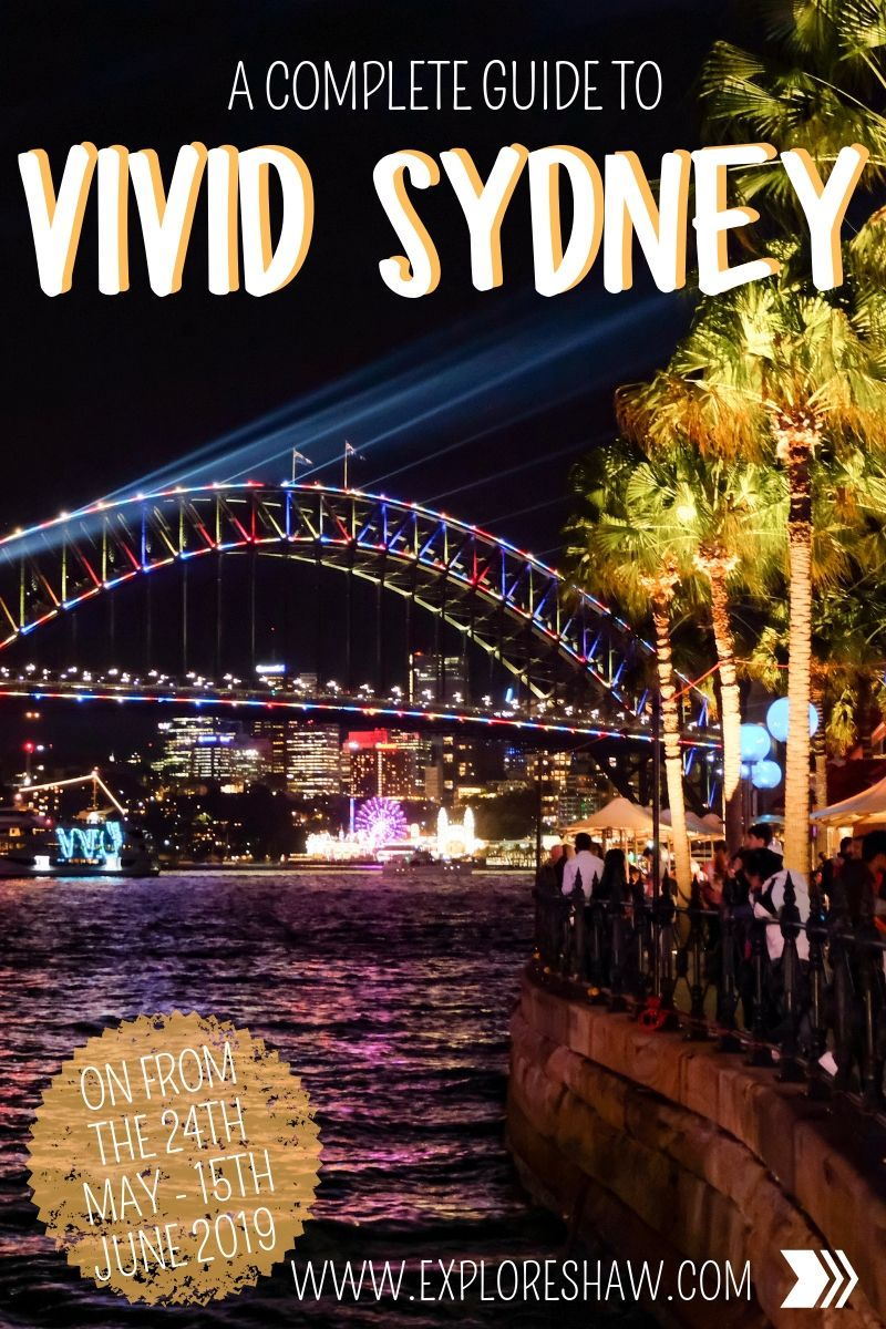 guide to vivid sydney
