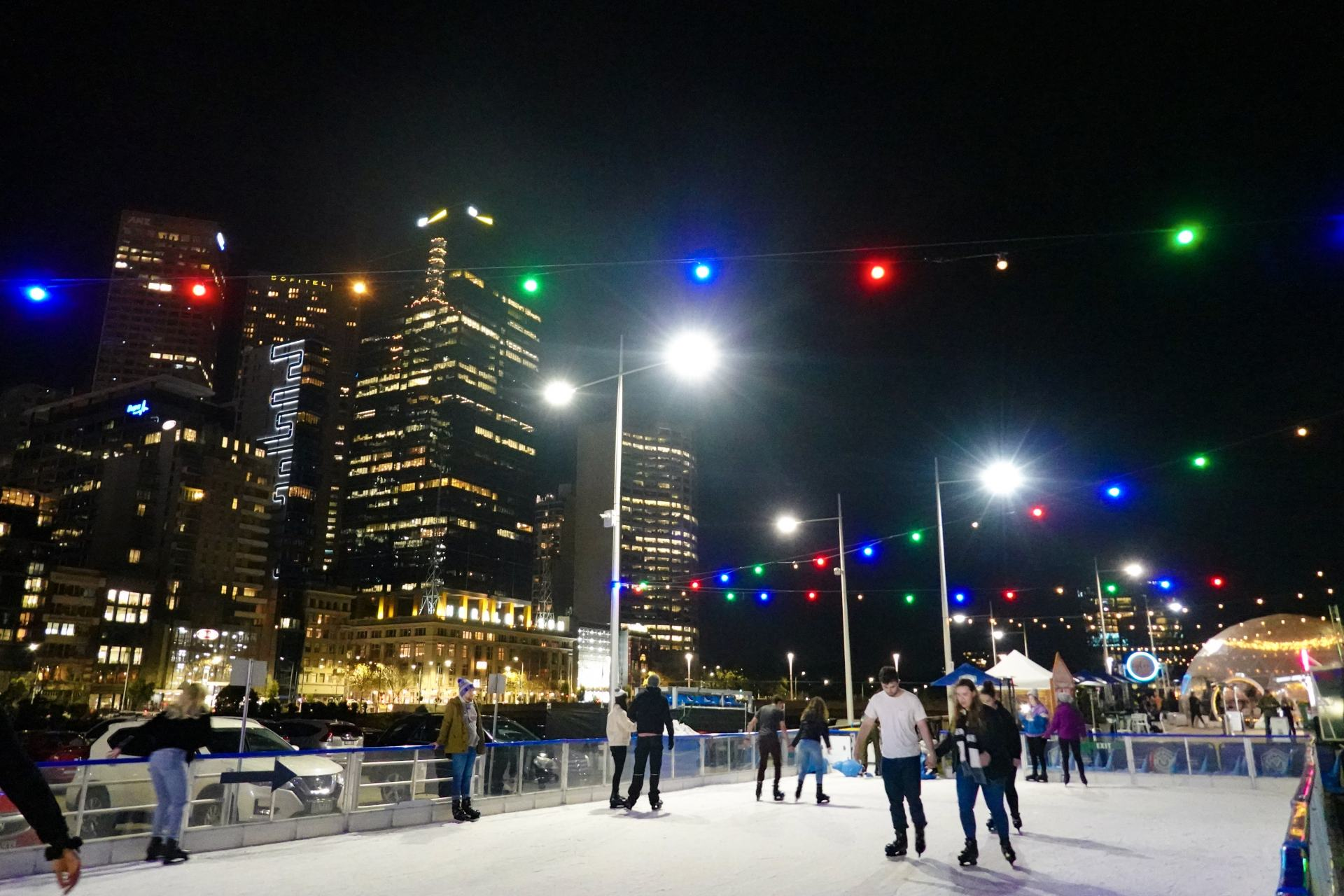 ice-skating rink melbourne