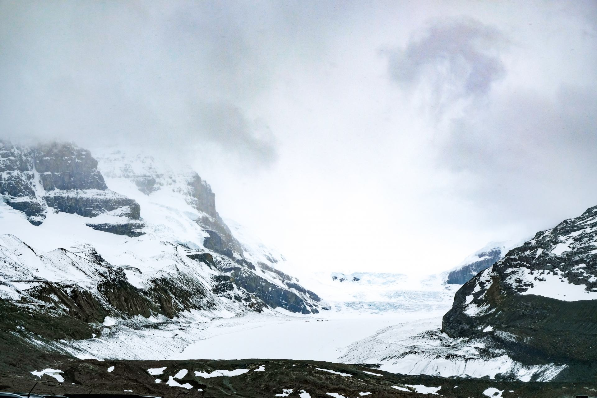 colombia icefields
