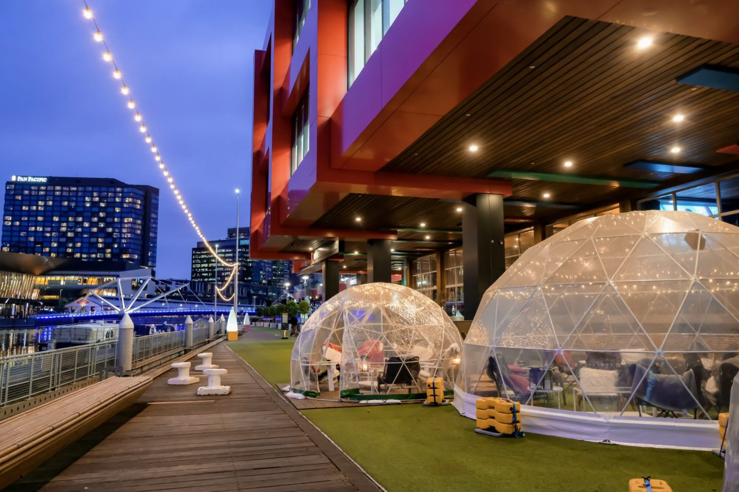 Dinner In An Igloo In Melbourne