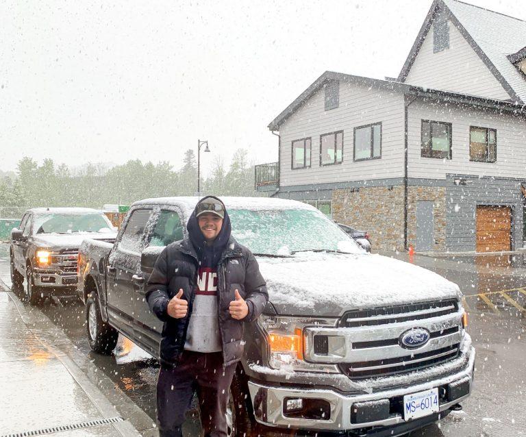 renting a car in canada