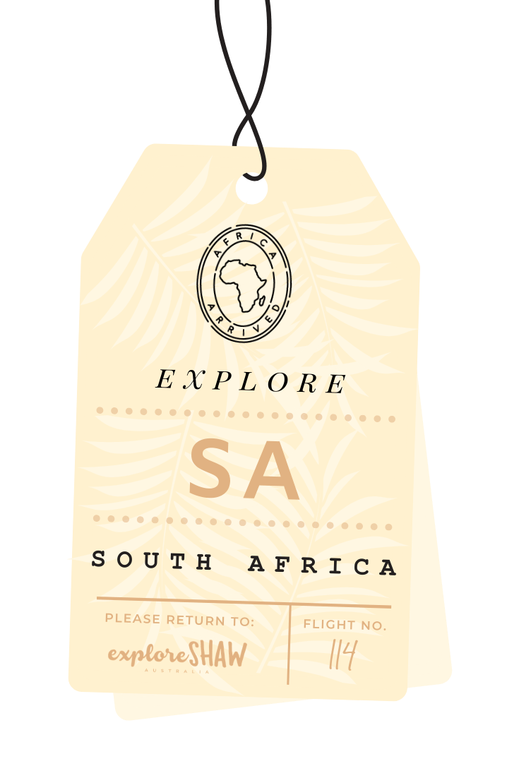 luggage tag south africa