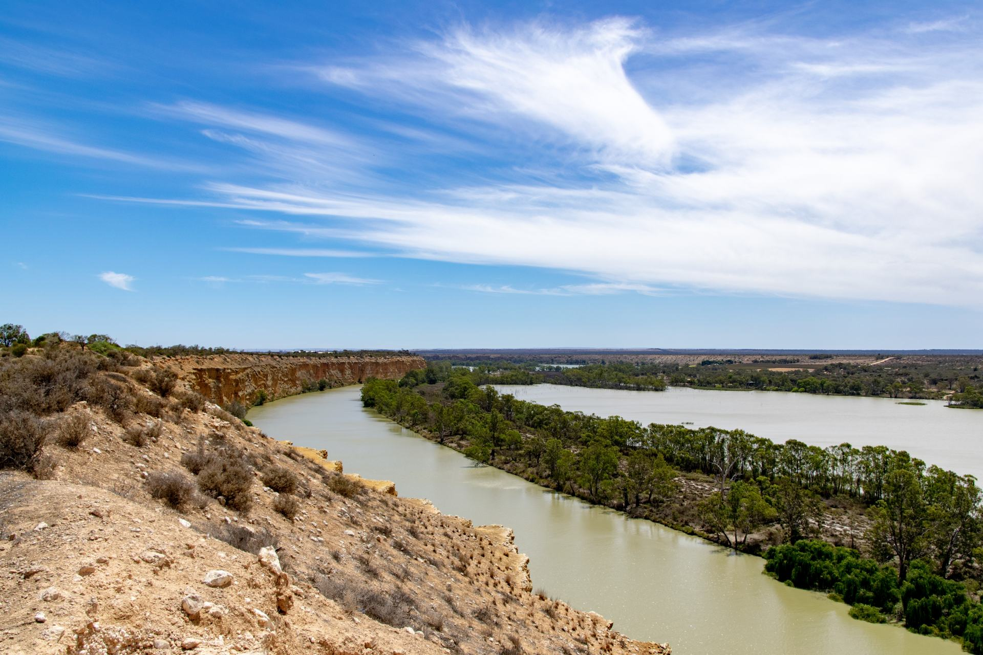 lookout in country south australia