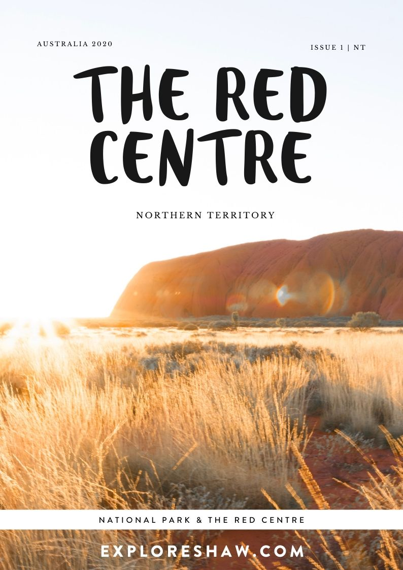 the red centre mini magazine