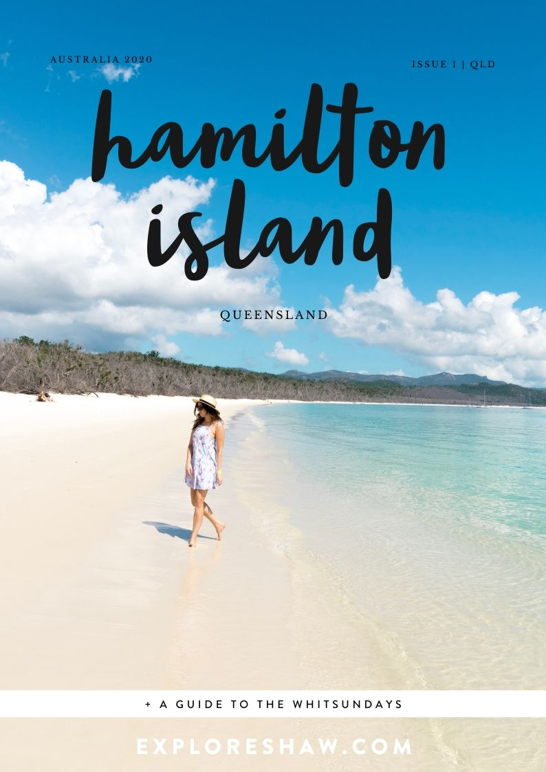 hamilton island magazine cover