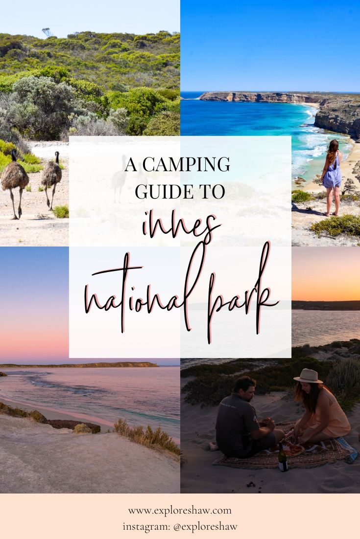 a camping guide to innes national park
