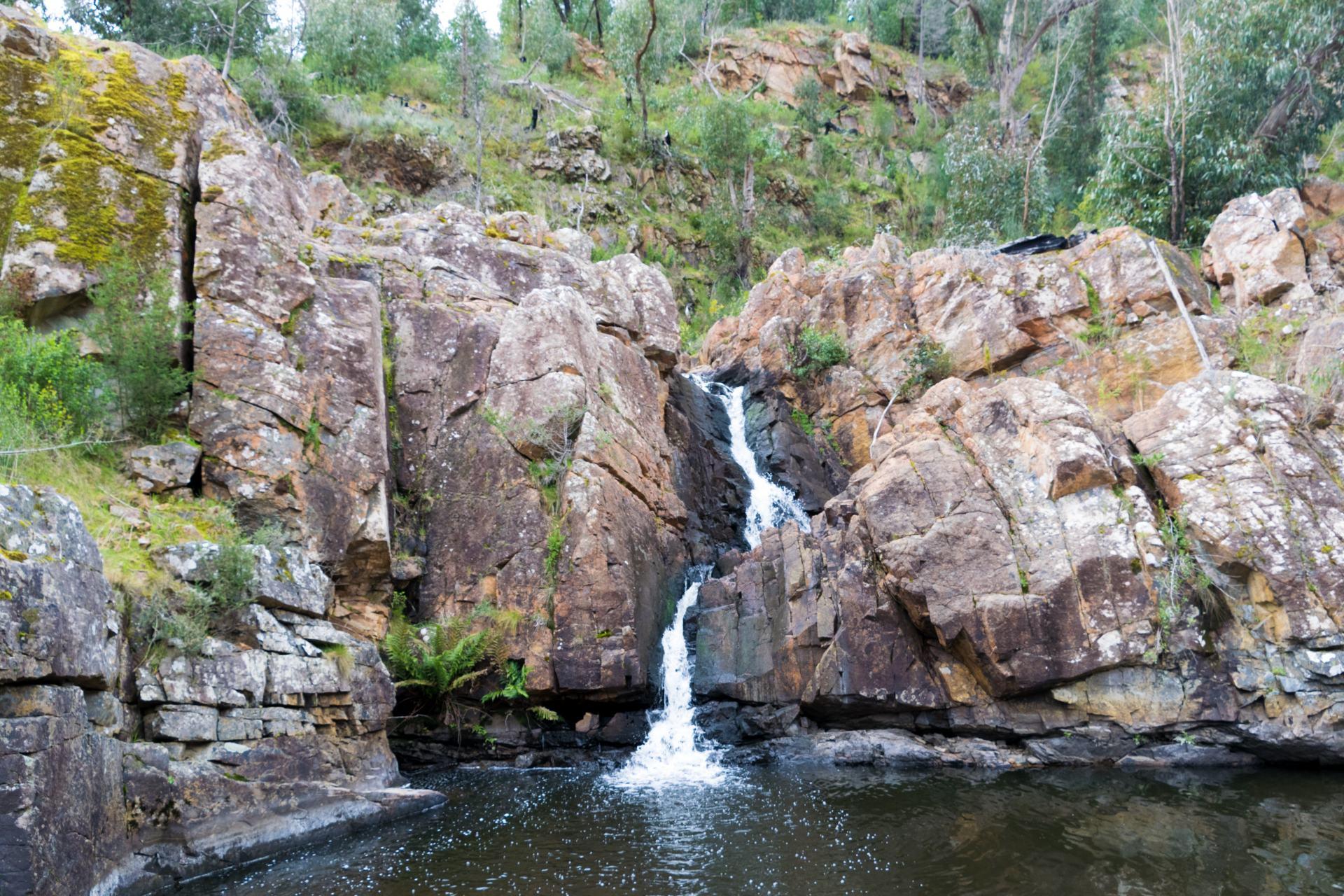 waterfalls in the grampians