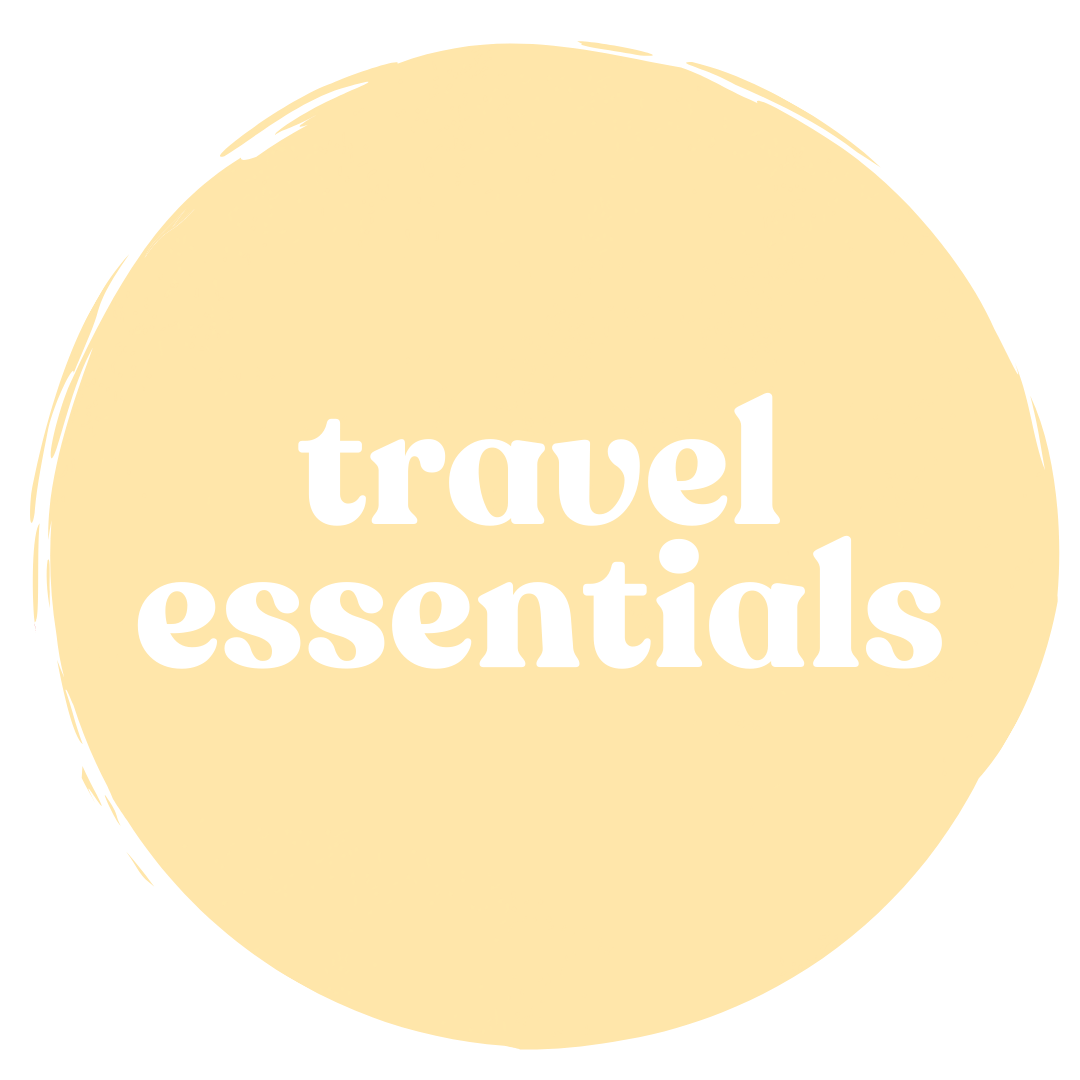 travel essentials shop