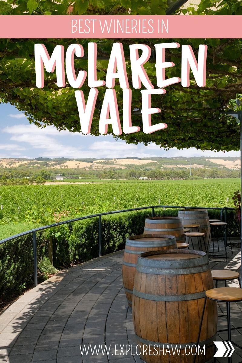 best wineries in mclaren vale