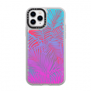 Casetify Tropical Palm Neon Sands iPhone Case
