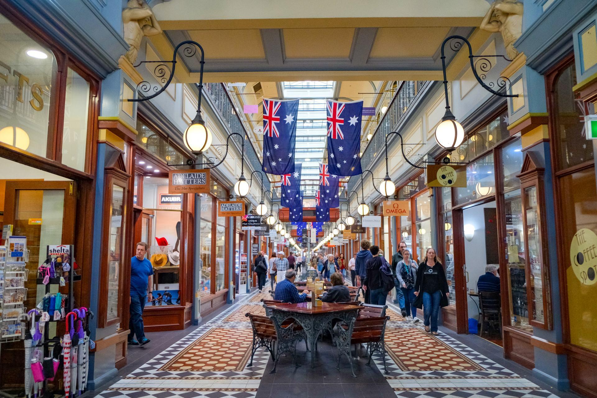 Adelaide laneways