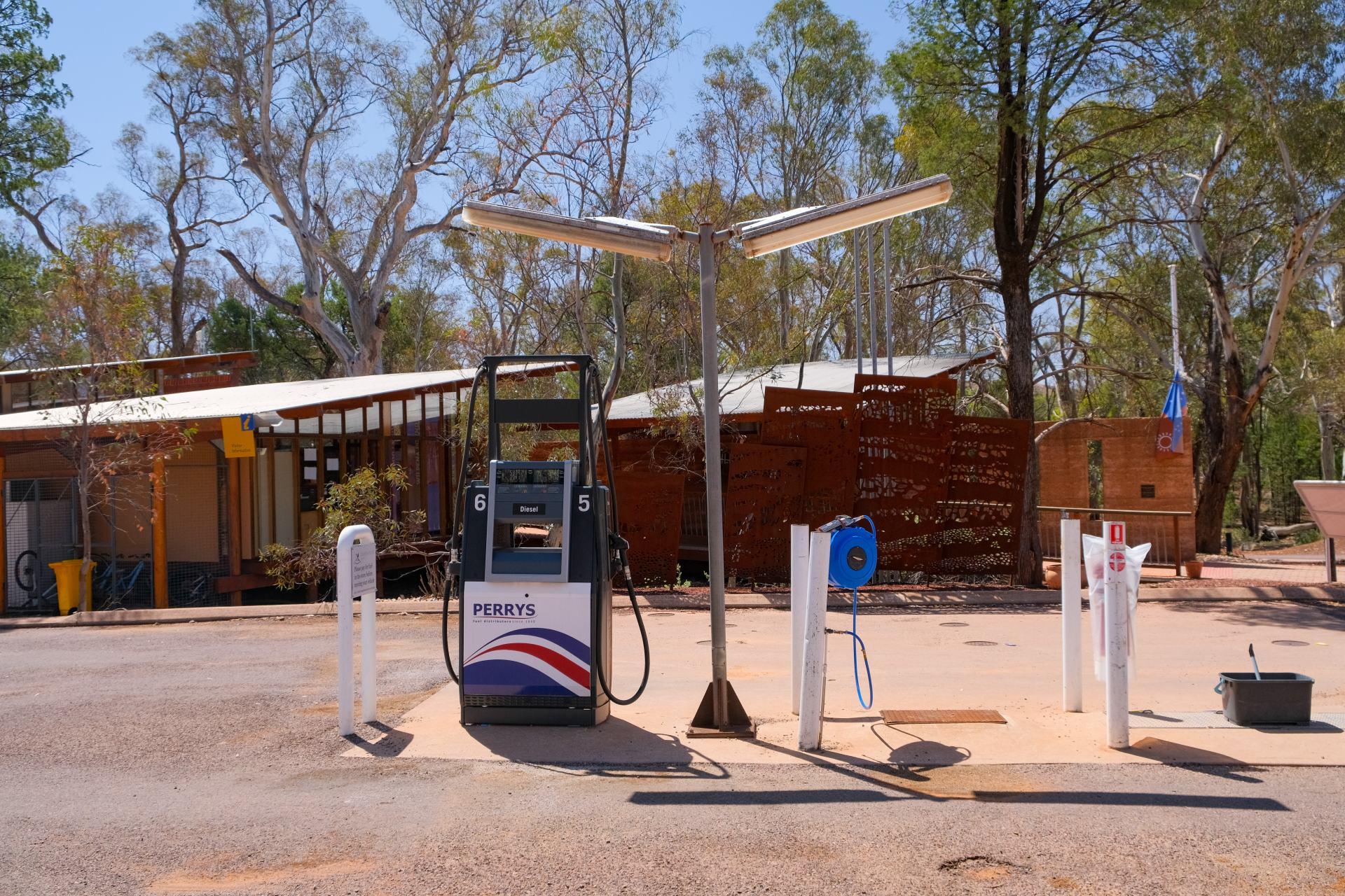 wilpena pound petrol station