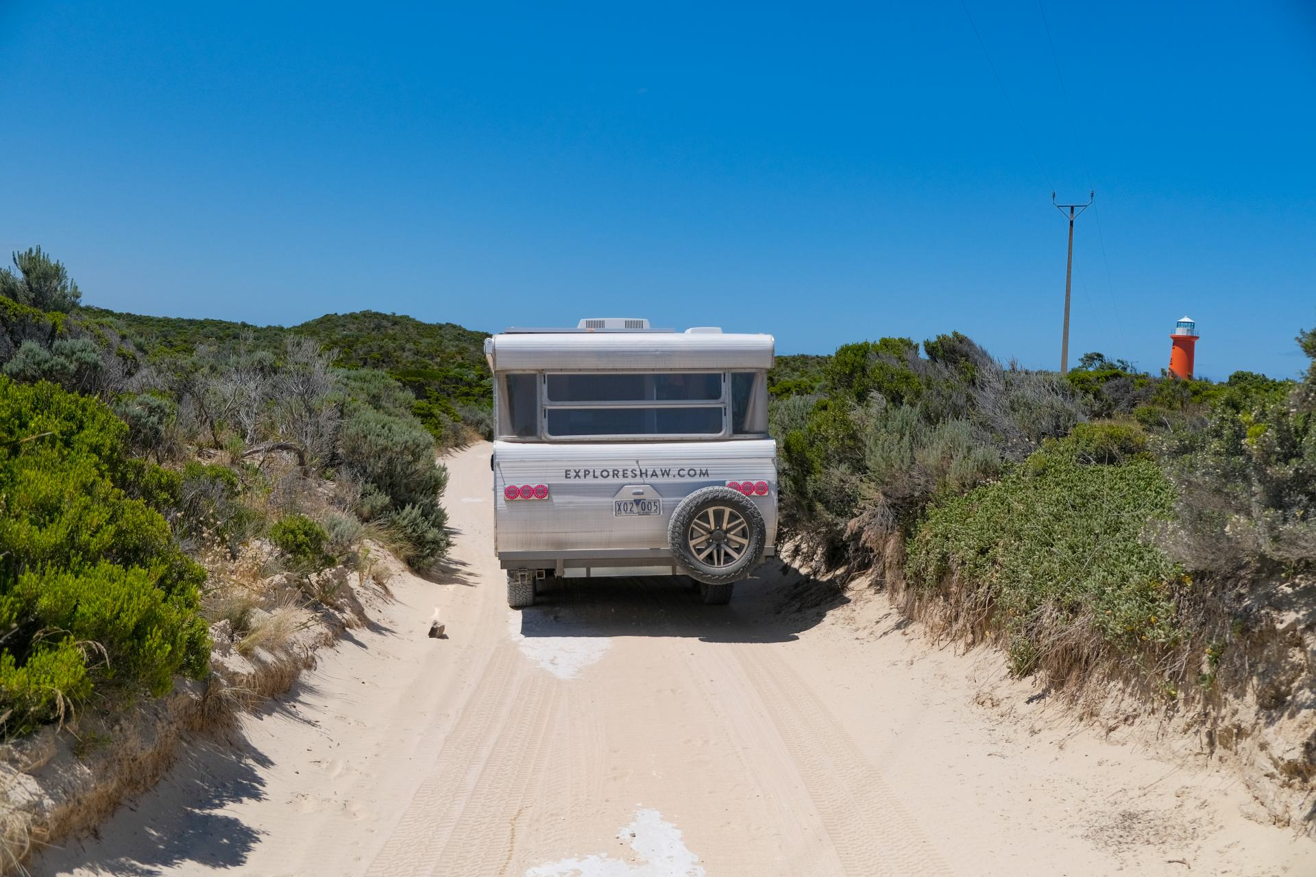 off-road on the limestone coast