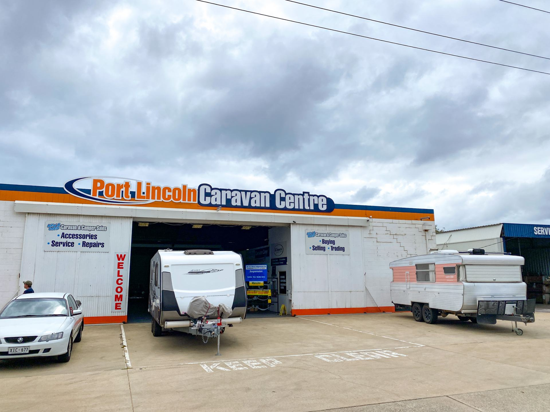 port lincoln caravan centre