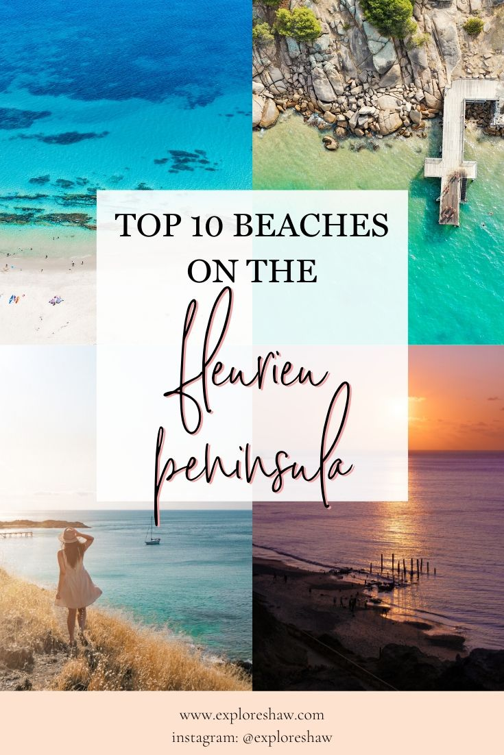 top 10 beaches on the fleurieu peninsula