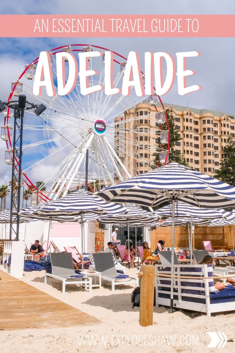 guide to adelaide