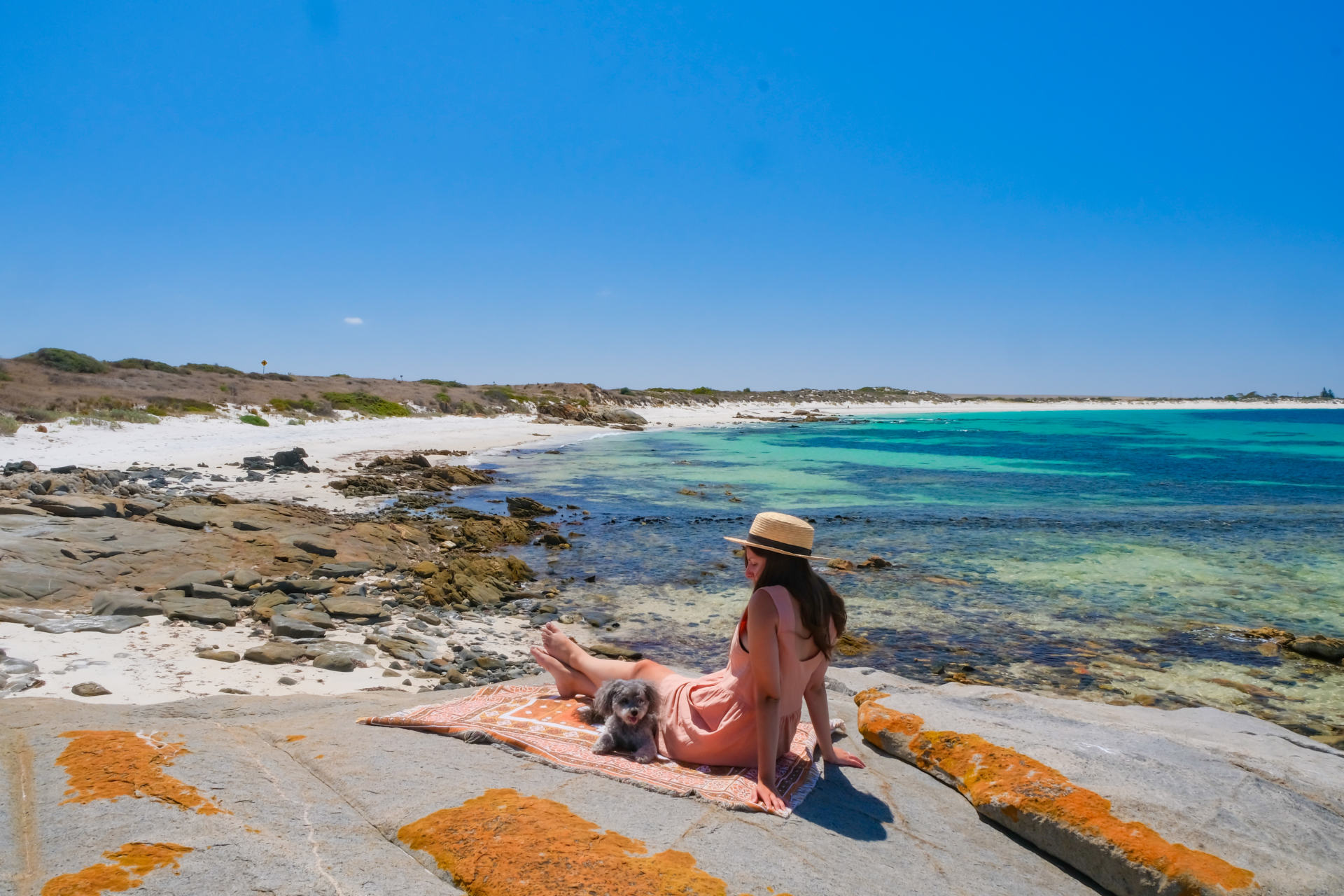 red cliffs tumby bay