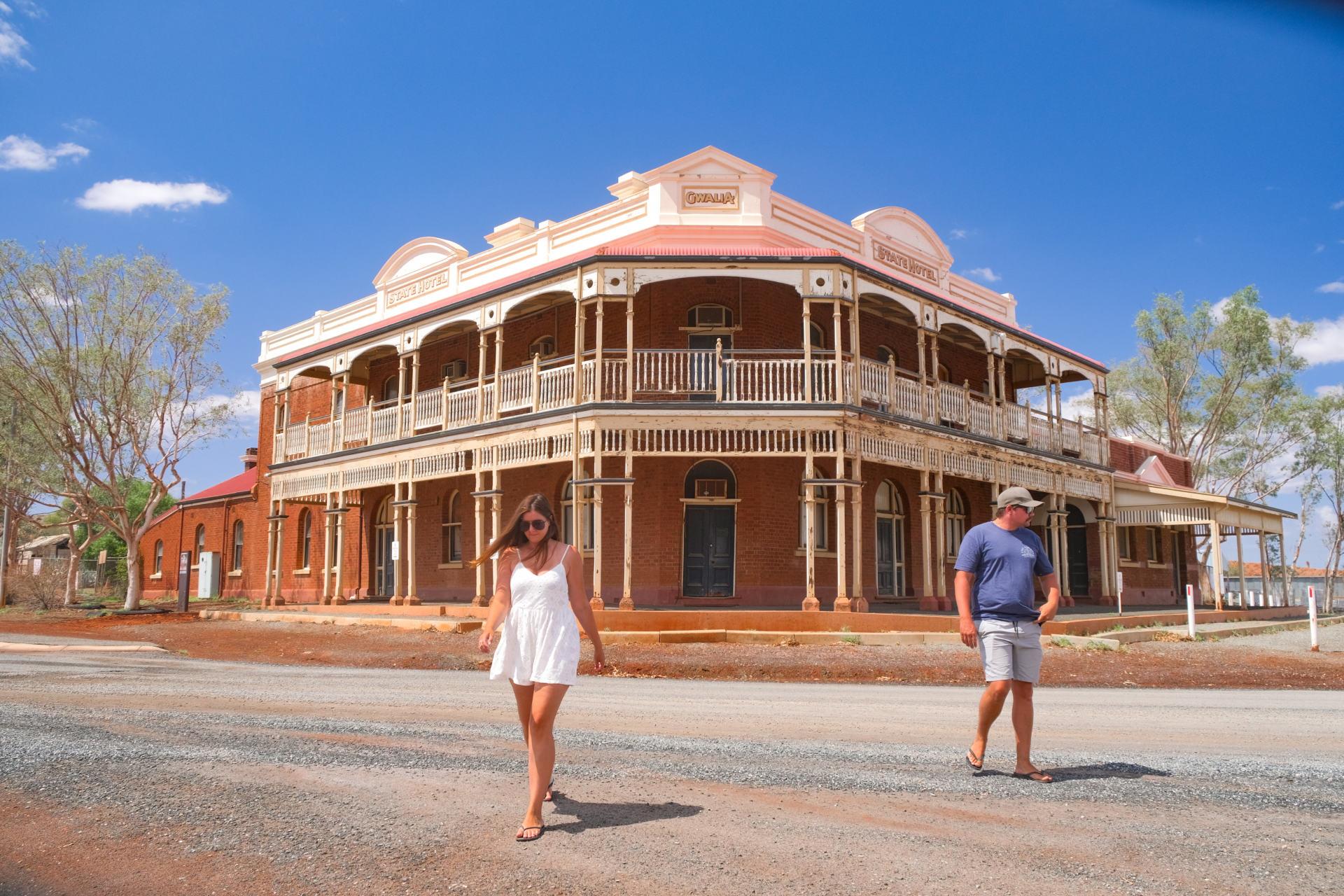 gwalia ghost town state hotel