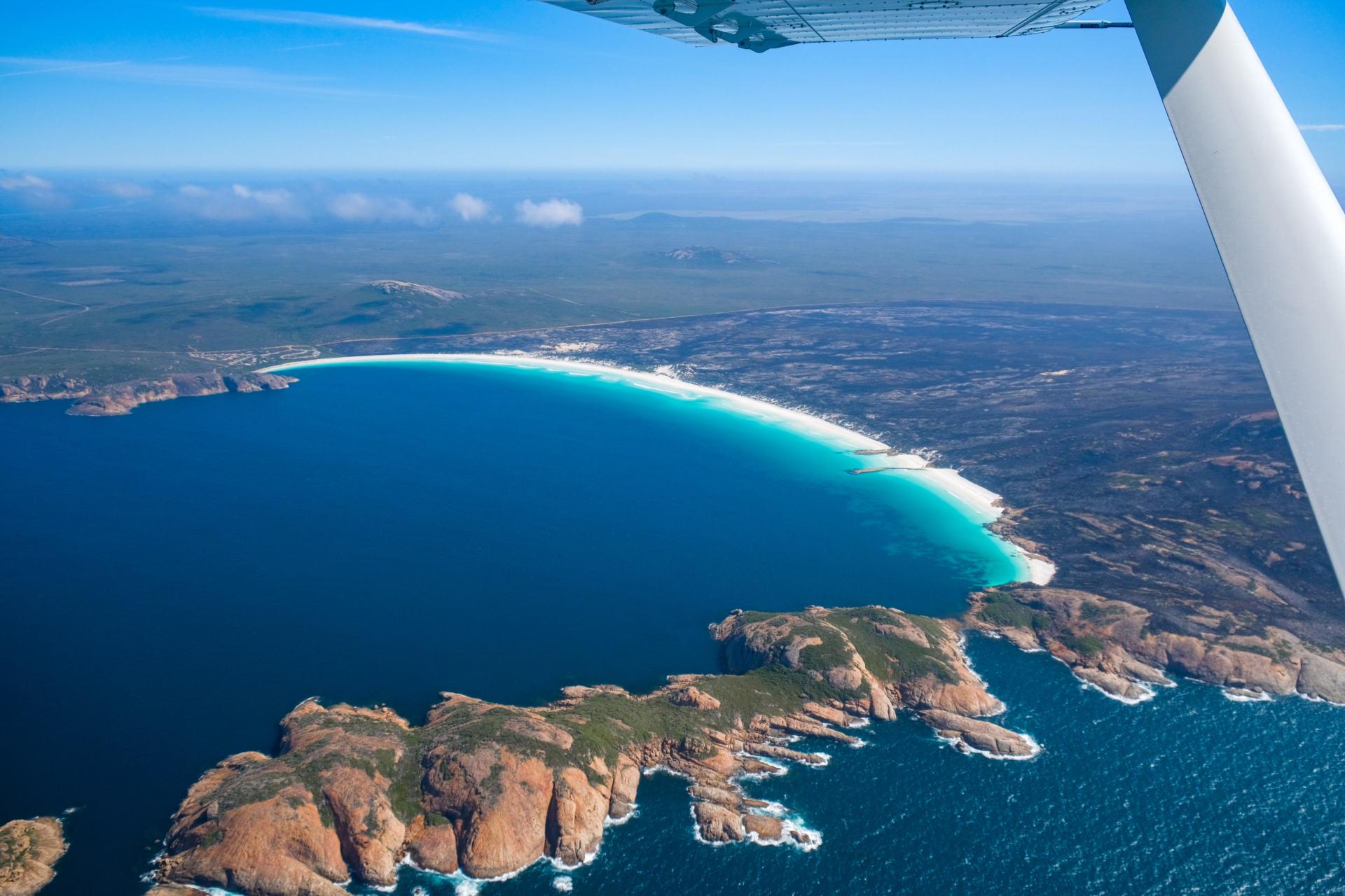 scenic flight over esperance