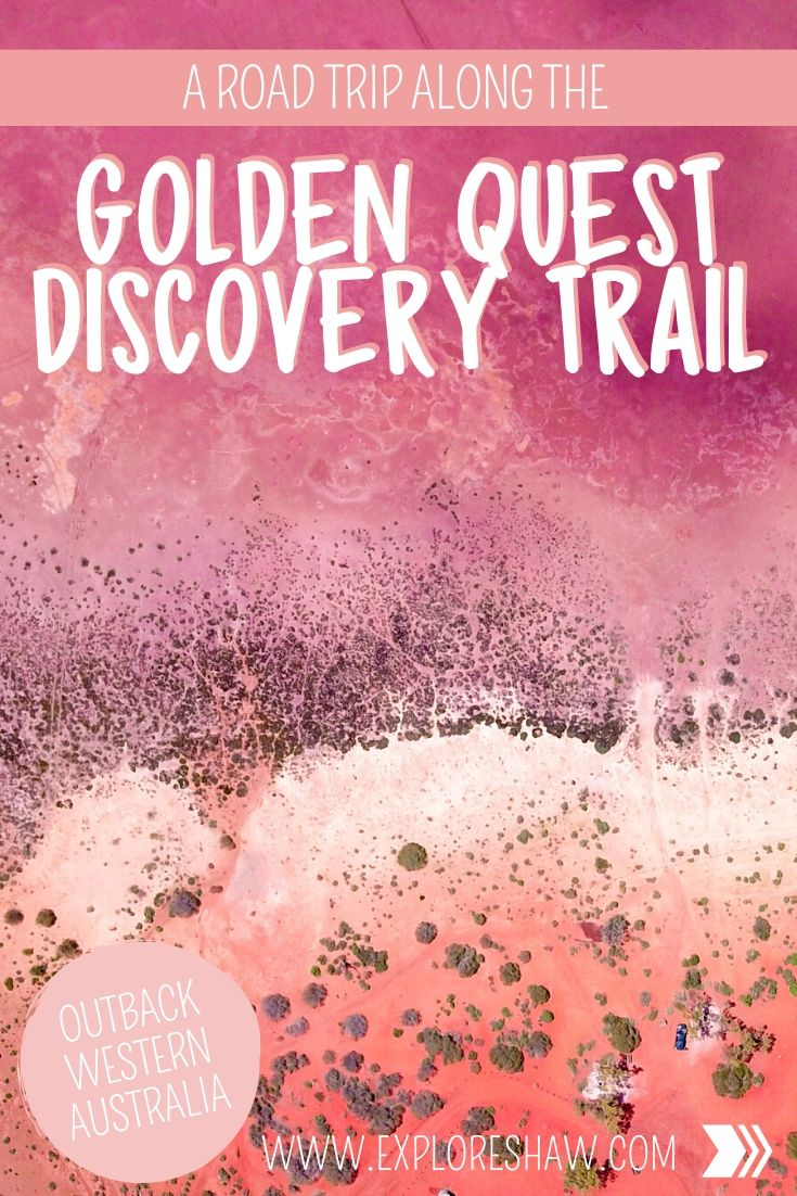 golden quest discovery trail