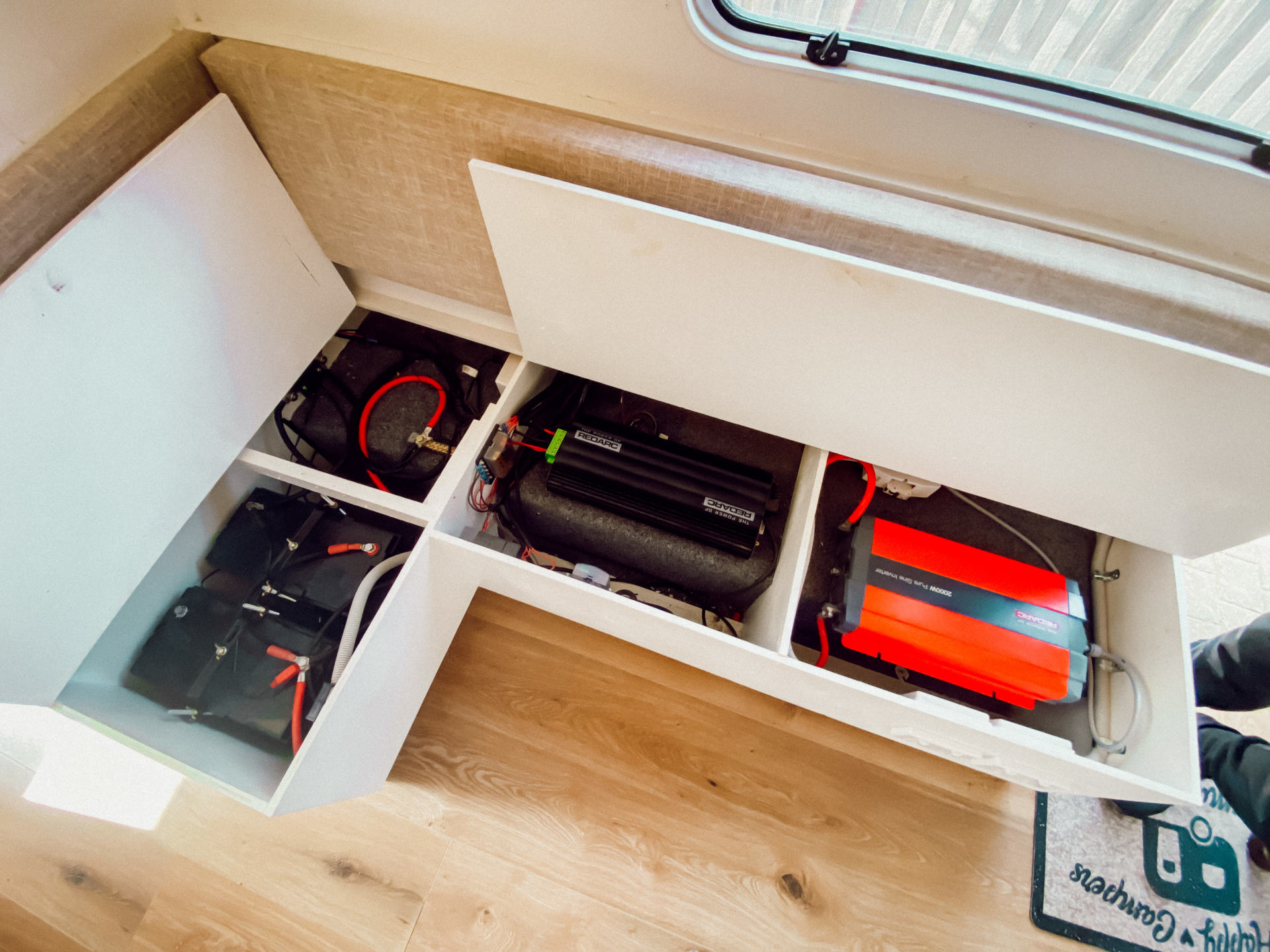 caravan battery system