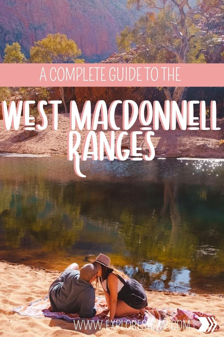 a guide to the west macdonnell ranges