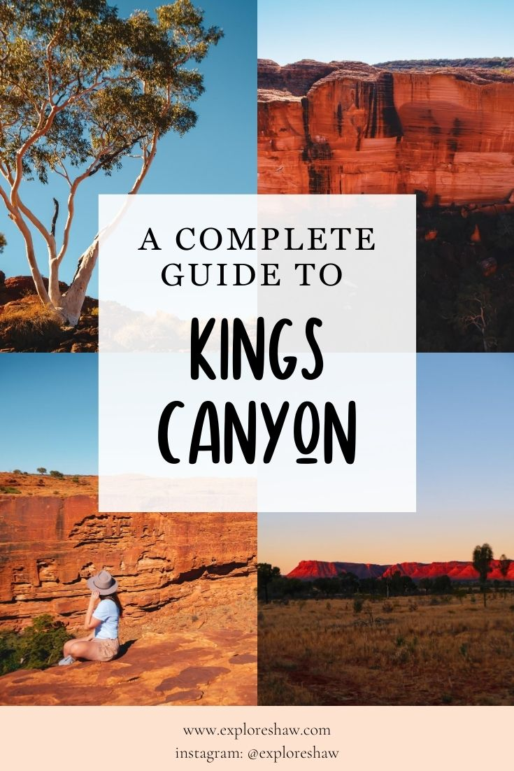 guide to kings canyon