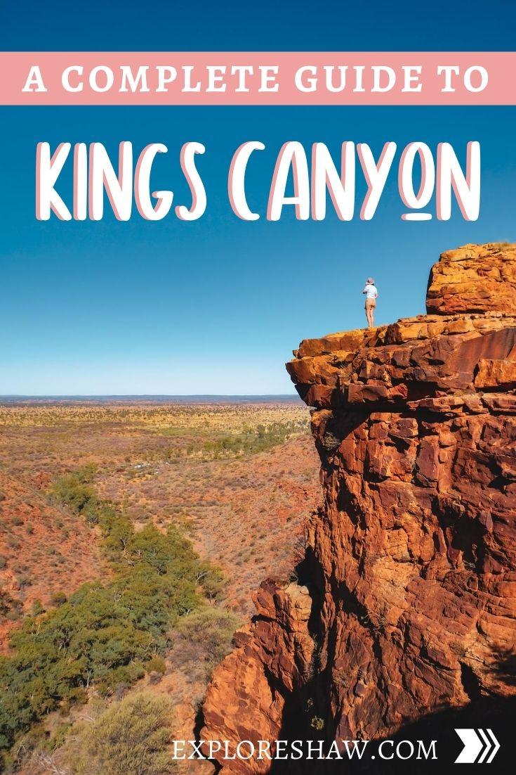 kings canyon guide