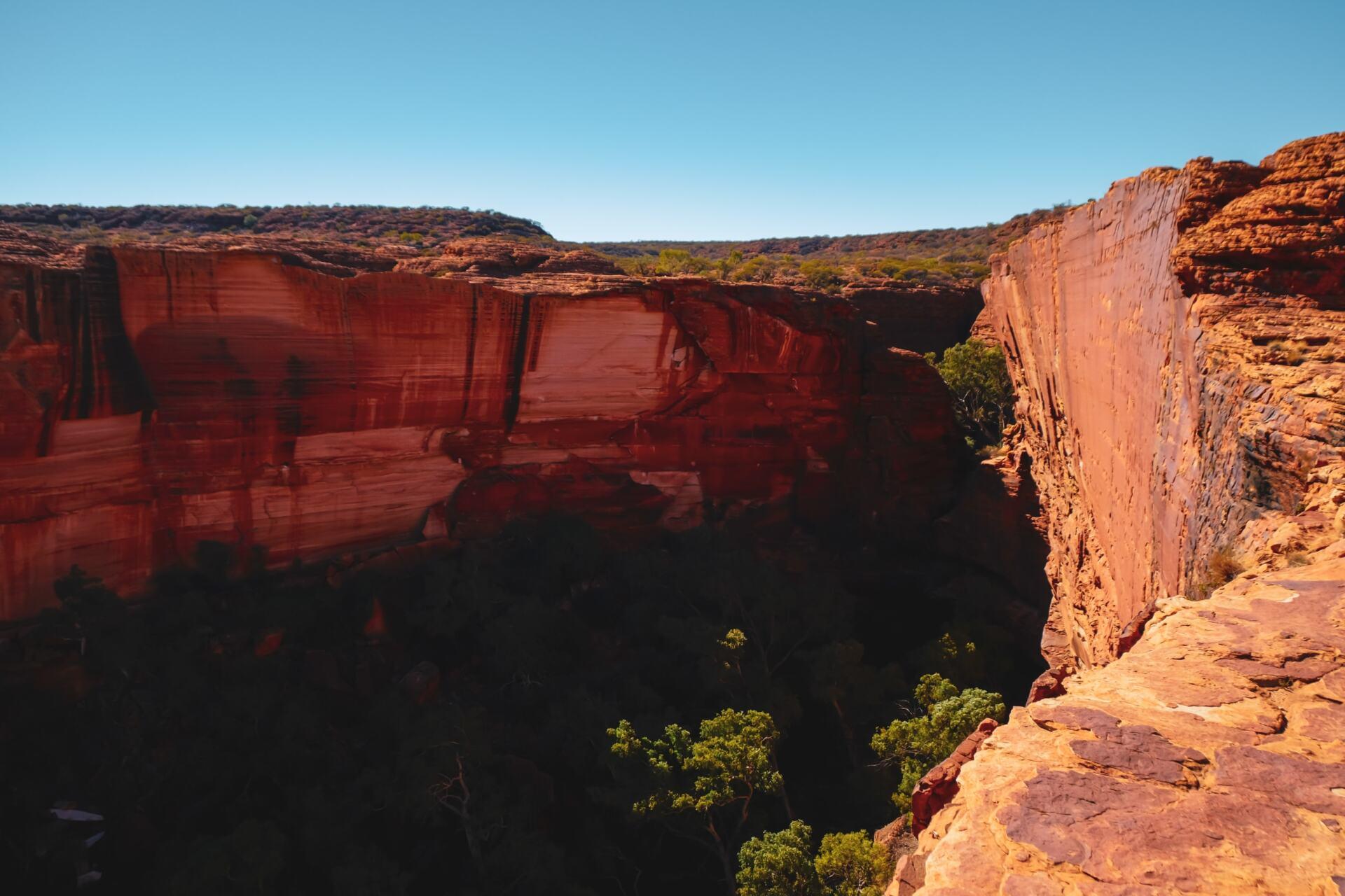 kings canyon south wall