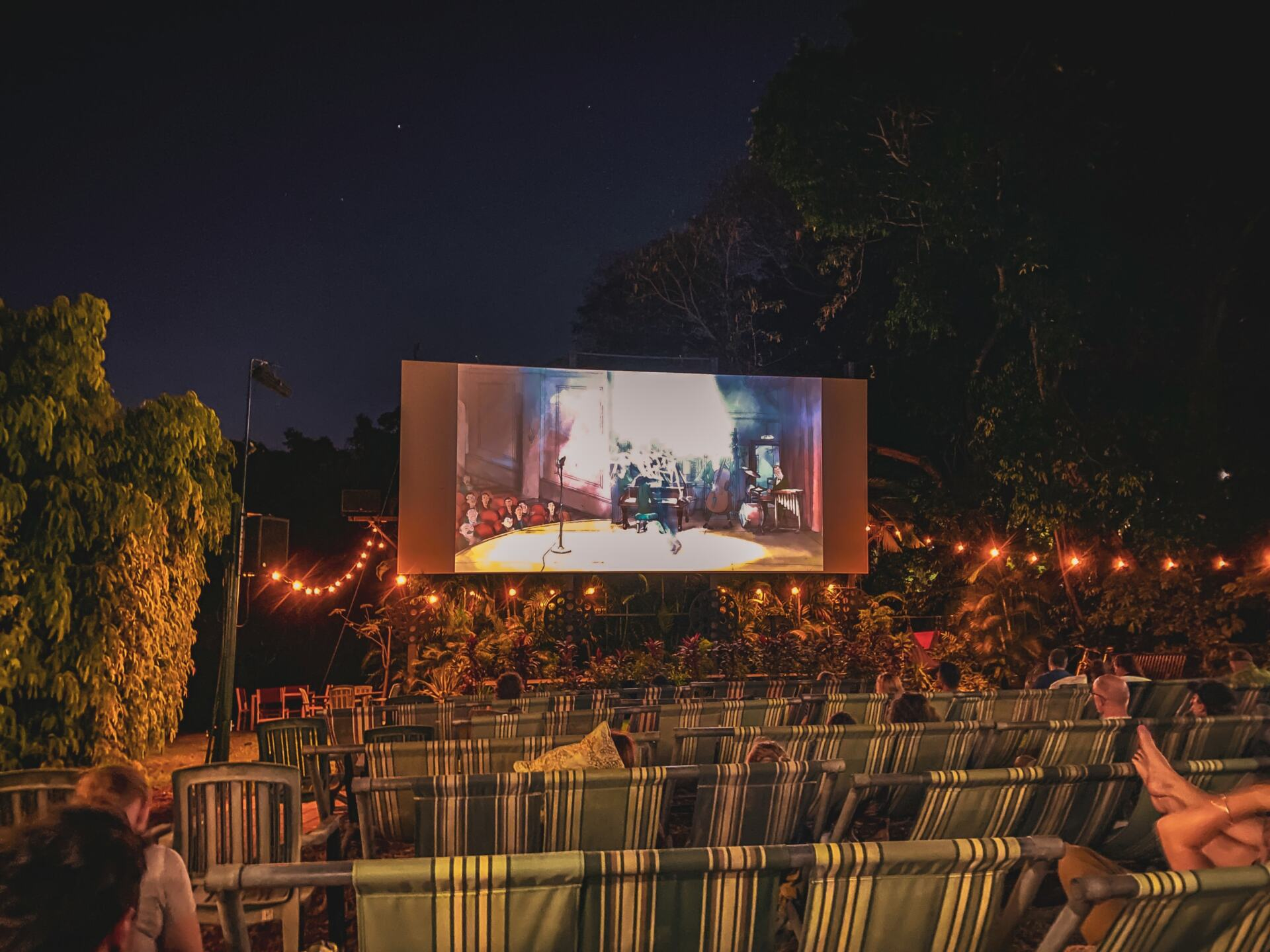 deck chair cinema